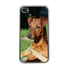 Min Pin On Gate  Apple iPhone 4 Case (Clear)