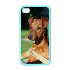 Min Pin On Gate  Apple iPhone 4 Case (Color)