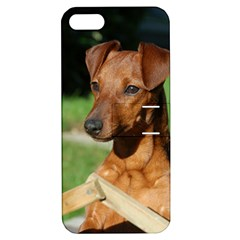 Min Pin On Gate  Apple iPhone 5 Hardshell Case with Stand