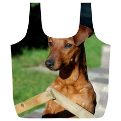 Min Pin On Gate  Full Print Recycle Bags (L)