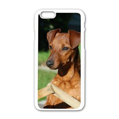 Min Pin On Gate  Apple iPhone 6/6S White Enamel Case
