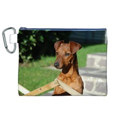 Min Pin On Gate  Canvas Cosmetic Bag (XL)