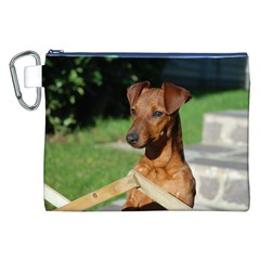 Min Pin On Gate  Canvas Cosmetic Bag (XXL)