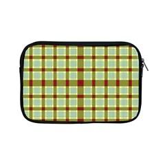 Geometric Tartan Pattern Square Apple iPad Mini Zipper Cases