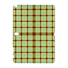 Geometric Tartan Pattern Square Galaxy Note 1