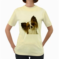 Papillon Women s Yellow T-Shirt