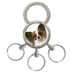 Papillon 3-Ring Key Chains