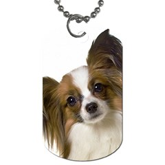 Papillon Dog Tag (One Side)
