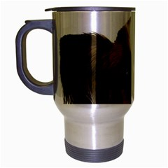 Papillon Travel Mug (Silver Gray)