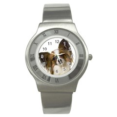 Papillon Stainless Steel Watch