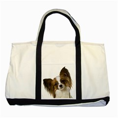 Papillon Two Tone Tote Bag
