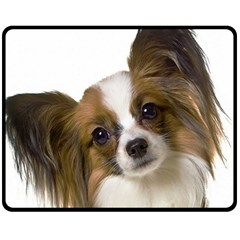 Papillon Fleece Blanket (Medium)