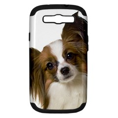 Papillon Samsung Galaxy S III Hardshell Case (PC+Silicone)