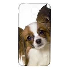 Papillon Samsung Galaxy S5 Back Case (White)