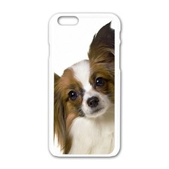 Papillon Apple iPhone 6/6S White Enamel Case