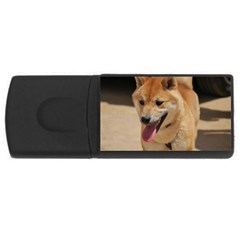 4 Shiba Inu USB Flash Drive Rectangular (1 GB)