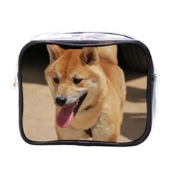 4 Shiba Inu Mini Toiletries Bags