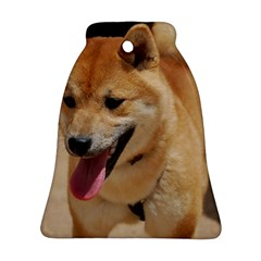4 Shiba Inu Bell Ornament (2 Sides)