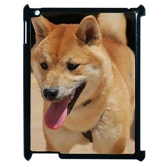4 Shiba Inu Apple iPad 2 Case (Black)