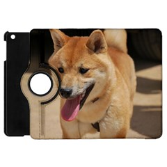 4 Shiba Inu Apple iPad Mini Flip 360 Case