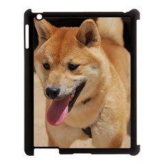 4 Shiba Inu Apple iPad 3/4 Case (Black)