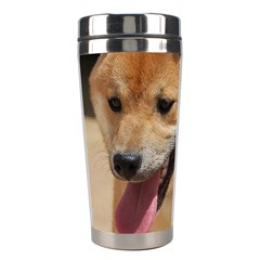 4 Shiba Inu Stainless Steel Travel Tumblers