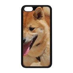 4 Shiba Inu Apple iPhone 5C Seamless Case (Black)