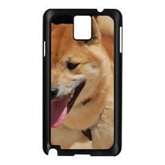 4 Shiba Inu Samsung Galaxy Note 3 N9005 Case (Black)