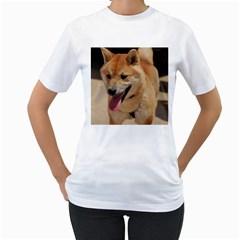 4 Shiba Inu Women s T-Shirt (White)