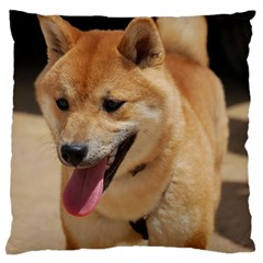 4 Shiba Inu Standard Flano Cushion Case (One Side)