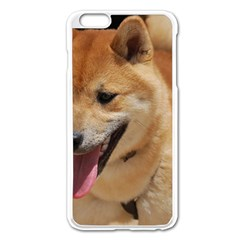 4 Shiba Inu Apple iPhone 6 Plus/6S Plus Enamel White Case