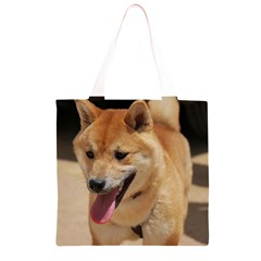 4 Shiba Inu Grocery Light Tote Bag