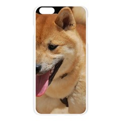 4 Shiba Inu Apple Seamless iPhone 6 Plus/6S Plus Case (Transparent)