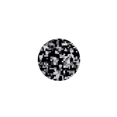 Noise Texture Graphics Generated 1  Mini Magnets