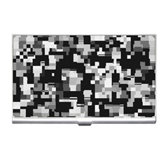 Noise Texture Graphics Generated Business Card Holders