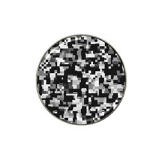 Noise Texture Graphics Generated Hat Clip Ball Marker (4 pack)