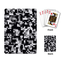 Noise Texture Graphics Generated Playing Card