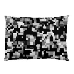 Noise Texture Graphics Generated Pillow Case