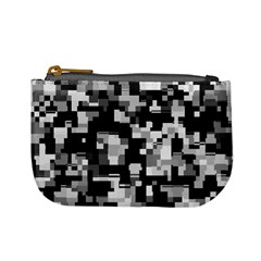 Noise Texture Graphics Generated Mini Coin Purses