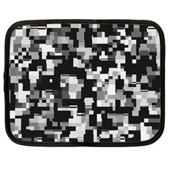Noise Texture Graphics Generated Netbook Case (XXL)