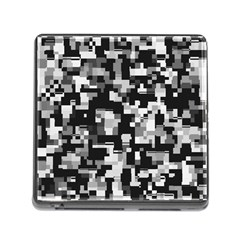 Noise Texture Graphics Generated Memory Card Reader (Square)