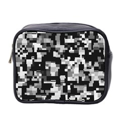 Noise Texture Graphics Generated Mini Toiletries Bag 2-Side