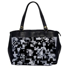Noise Texture Graphics Generated Office Handbags