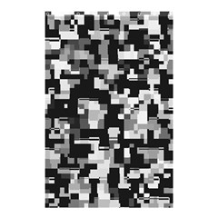 Noise Texture Graphics Generated Shower Curtain 48  x 72  (Small)
