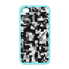 Noise Texture Graphics Generated Apple iPhone 4 Case (Color)