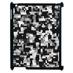 Noise Texture Graphics Generated Apple iPad 2 Case (Black)