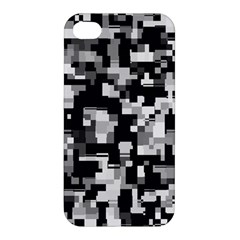 Noise Texture Graphics Generated Apple iPhone 4/4S Hardshell Case