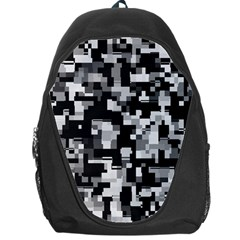 Noise Texture Graphics Generated Backpack Bag