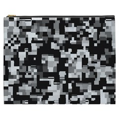 Noise Texture Graphics Generated Cosmetic Bag (XXXL)