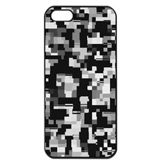 Noise Texture Graphics Generated Apple iPhone 5 Seamless Case (Black)